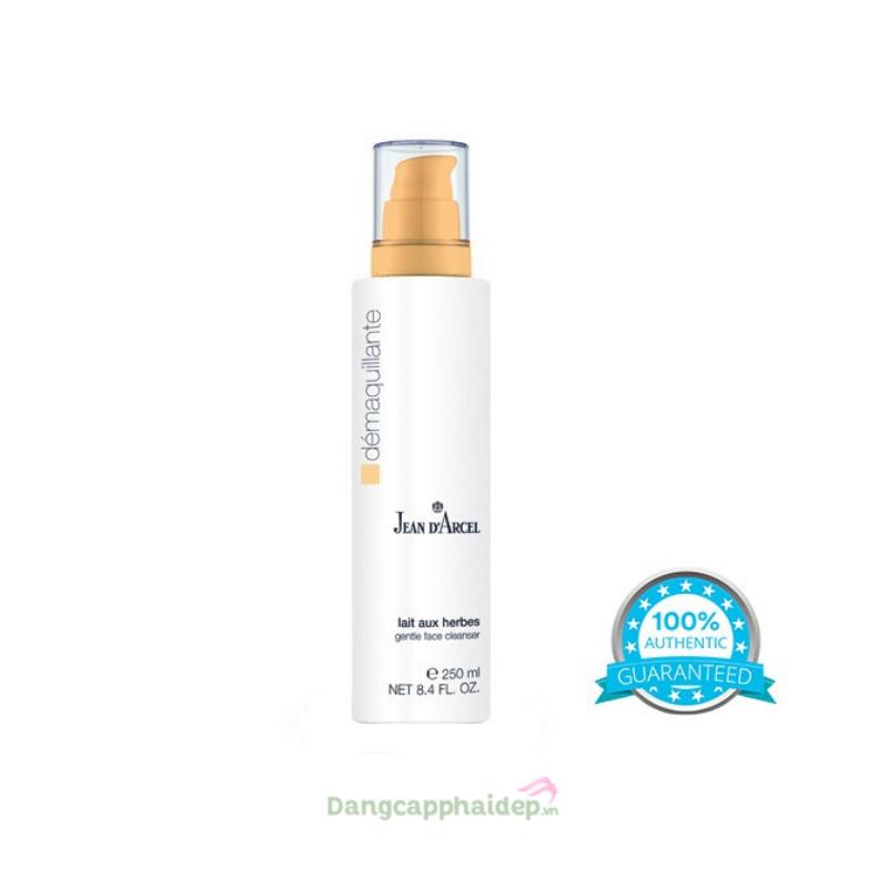 Jean D'Arcel Gentle Face Cleanser 250ml – Sữa rửa mặt cho da khô và da nhạy cảm J05