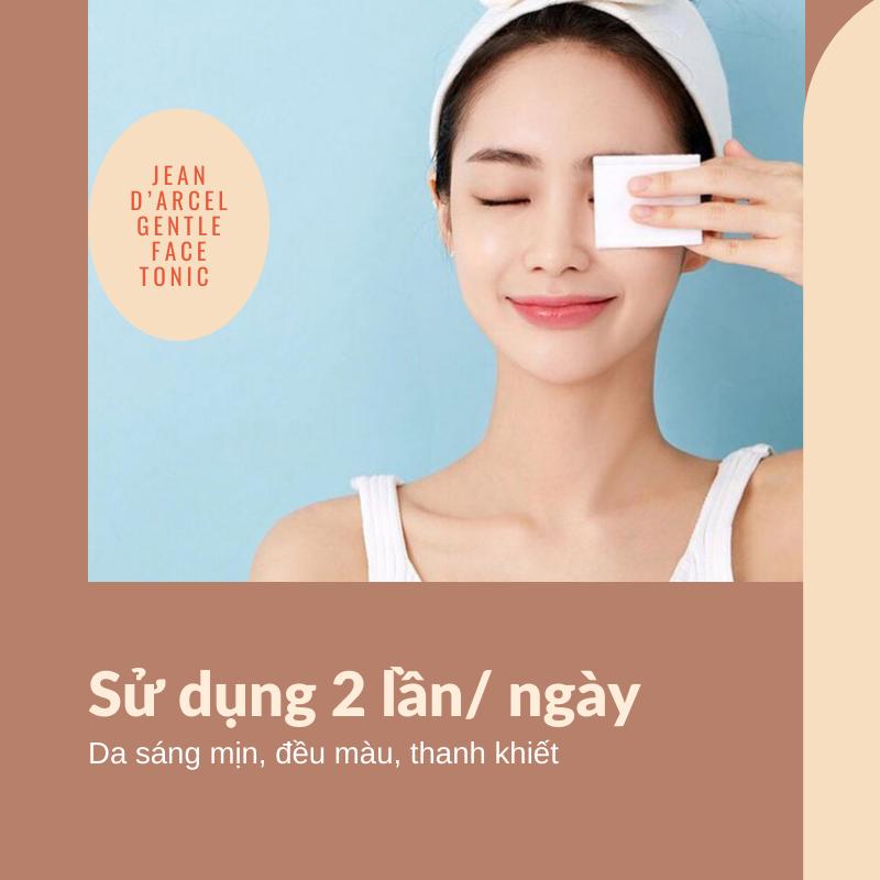 Sử dụng đều đặn sáng - tối để da sạch sâu, đều màu, thoáng mịn.