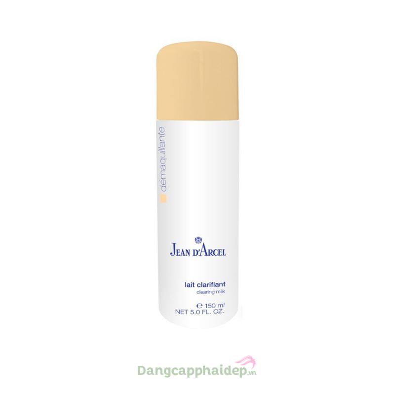 Jean D'Arcel Clearing Milk 150ml – Sữa rửa mặt dành cho da dầu và da mụn J107