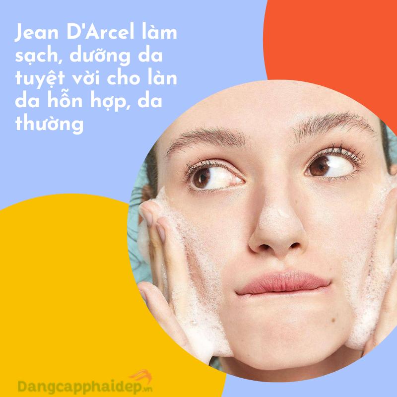 Jean D'Arcel Balancing Cleanser giúp làm sạch, cấp nước, dưỡng sáng da.