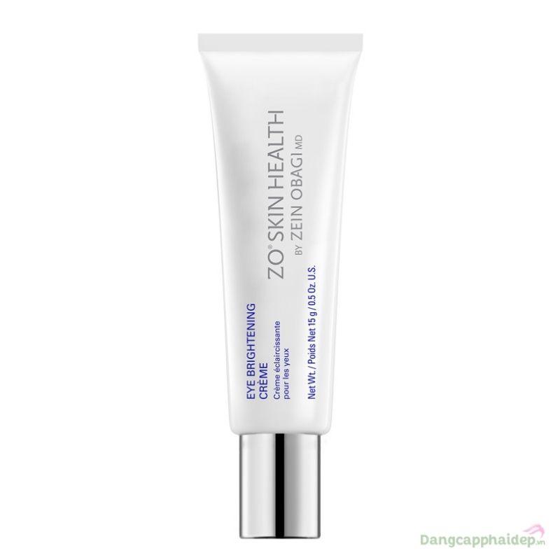 Zo Skin Health Eye Brightening Creme 15g - Kem dưỡng chống nhăn, làm sáng da vùng mắt