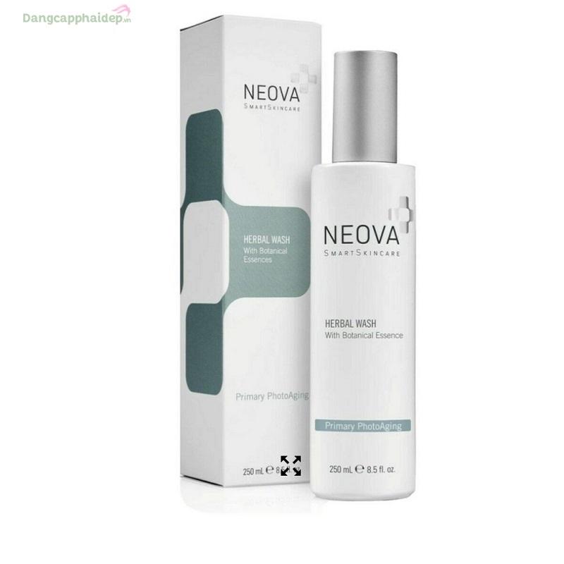 Neova Herbal Wash 250ml – Sữa rửa mặt cân bằng độ ẩm cho da