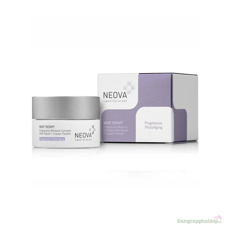 Neova Night Therapy 50ml – Kem dưỡng ẩm trẻ hoá da ban đêm