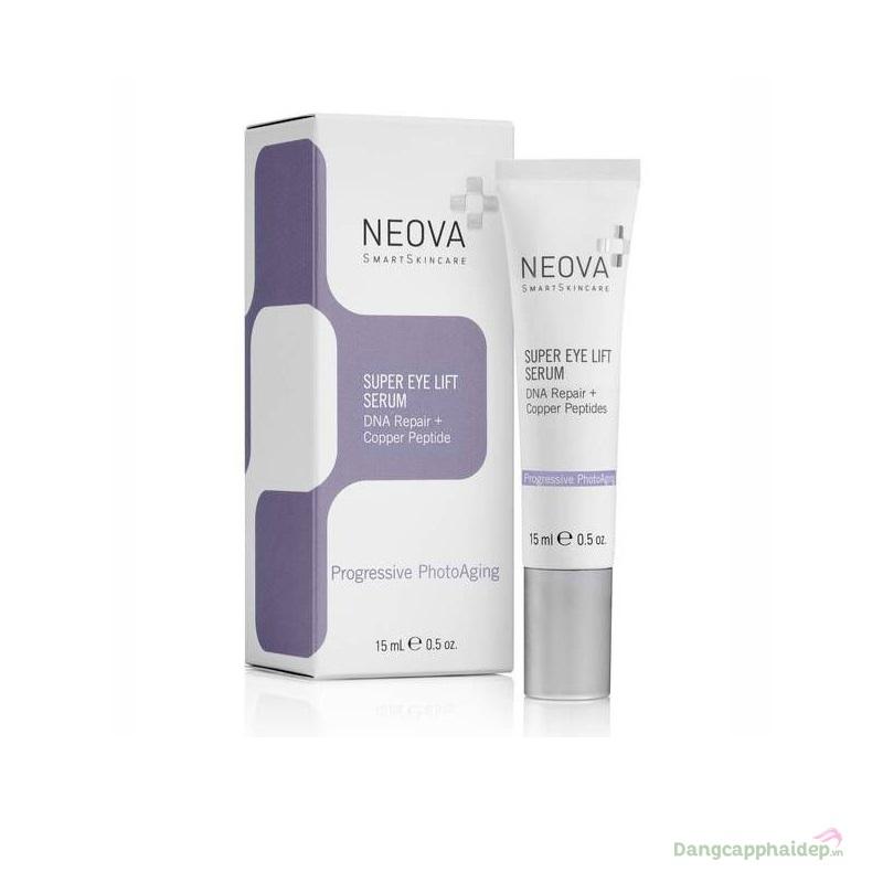 Neova Super Eye Lift Serum 15ml xoá nhăn, dưỡng sáng vùng da quanh mắt