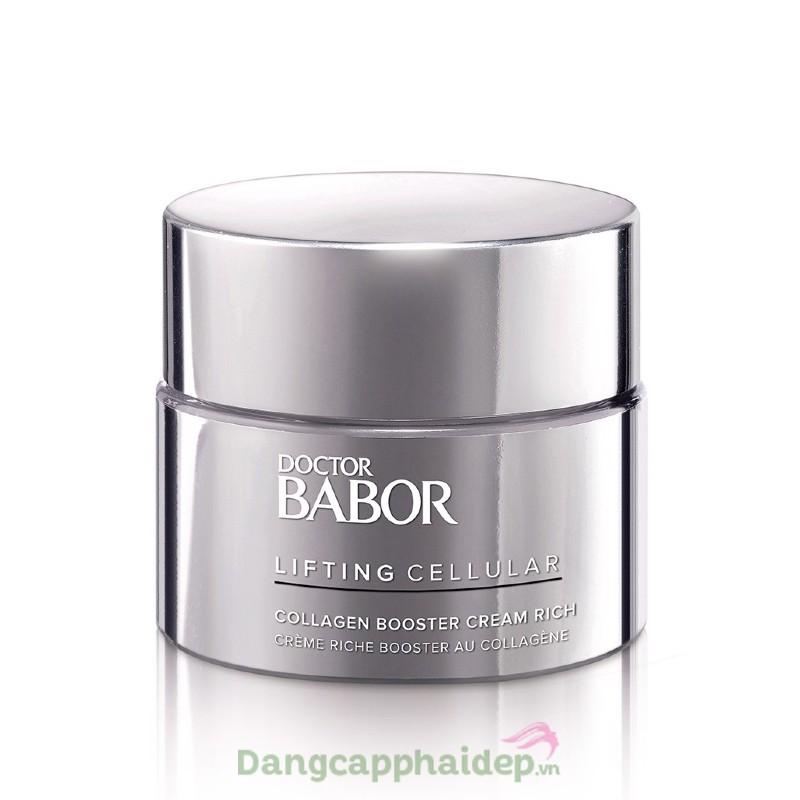 Babor Collagen Booster Cream Rich - Kem tăng cường collagen (Dành cho da khô, thường)