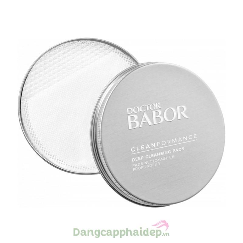 Babor Deep Cleansing Pads - Miếng rửa mặt làm sạch sâu