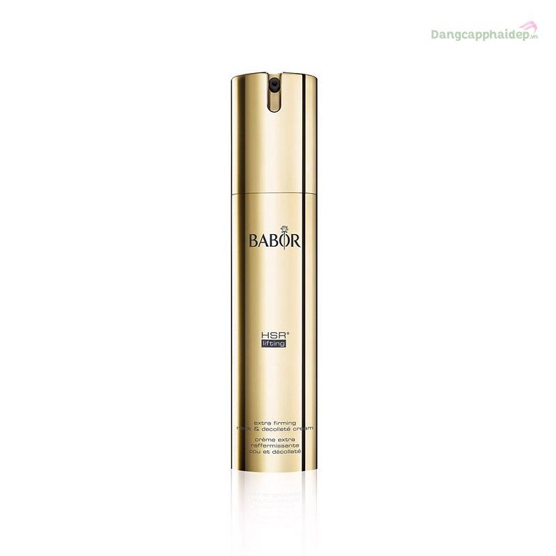 Babor HSR Lifting Neck & Decollete Cream 50ml – Kem săn chắc trẻ hoá làn da