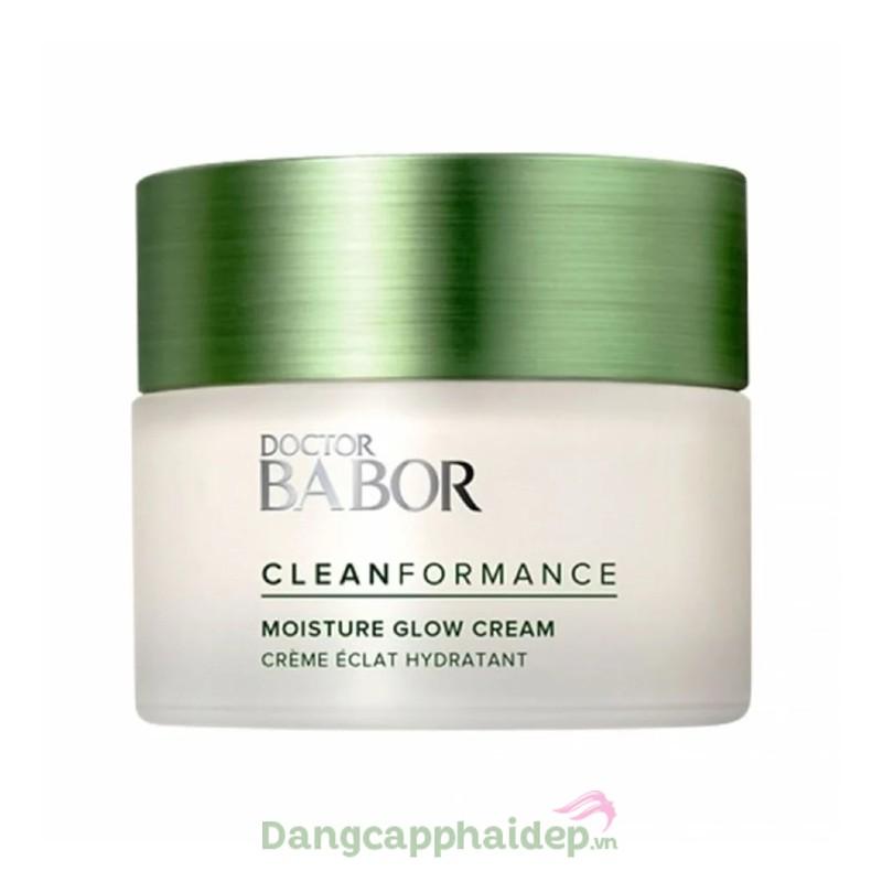 Babor Moisture Glow Day Cream 50ml - Kem dưỡng ẩm nhẹ cân bằng da, chống dấu hiệu lão hóa sớm