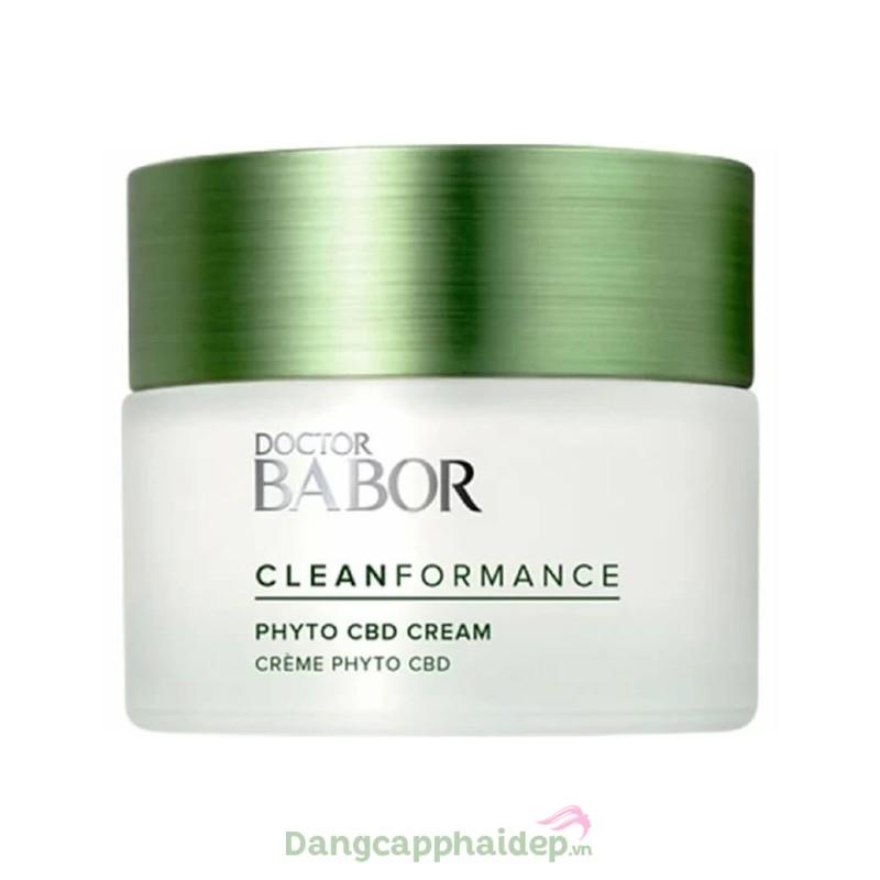 Babor Phyto CBD 24h Cream 50ml - Kem dưỡng da CBD bảo vệ và cải thiện da bị kích ứng