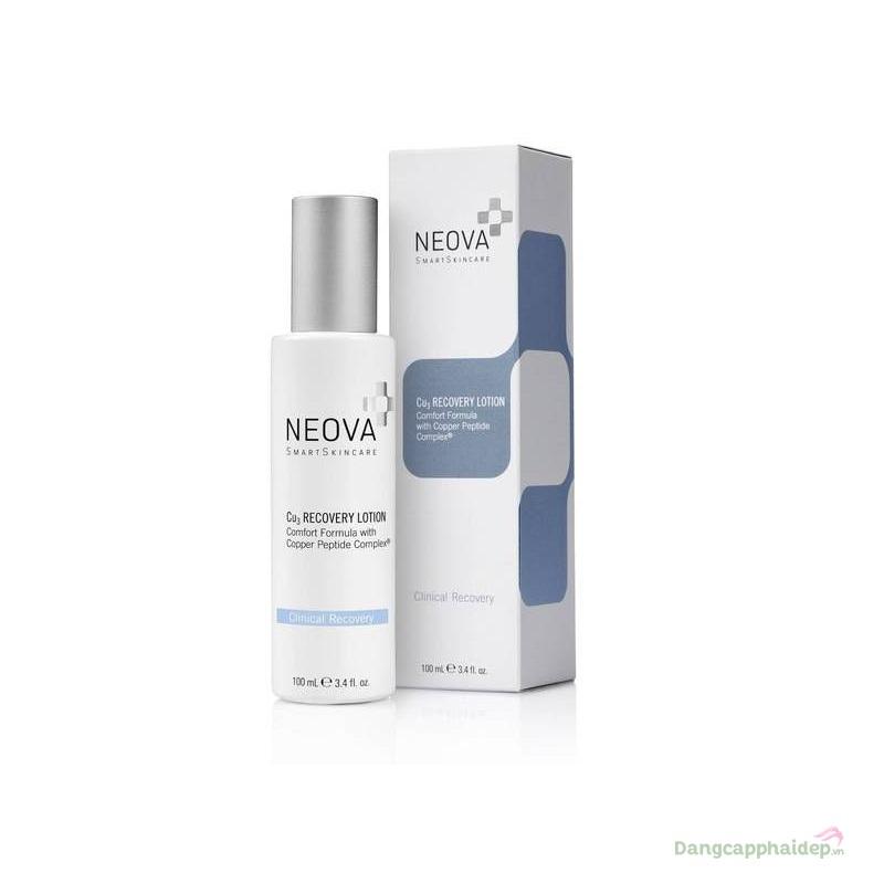 Neova Cu3 Recovery Lotion 100ml – Sữa dưỡng phục hồi da sau laser, bỏng