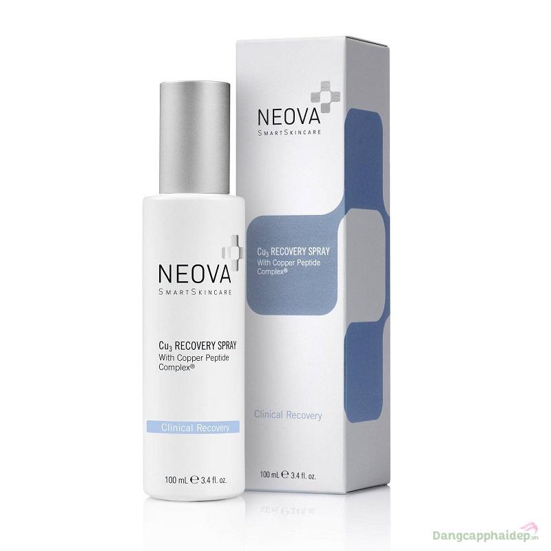 Neova Cu3 Recovery Spray 100ml – Xịt làm dịu và phục hồi da