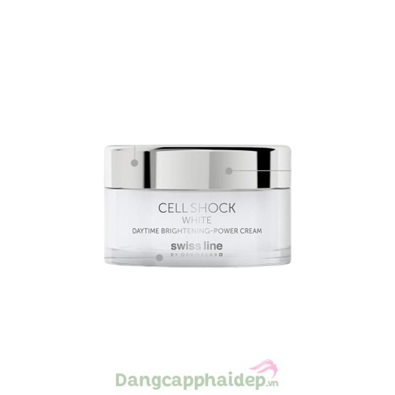 Swissline Daytime Brightening Power Cream 50ml - Kem dưỡng trắng da ban ngày