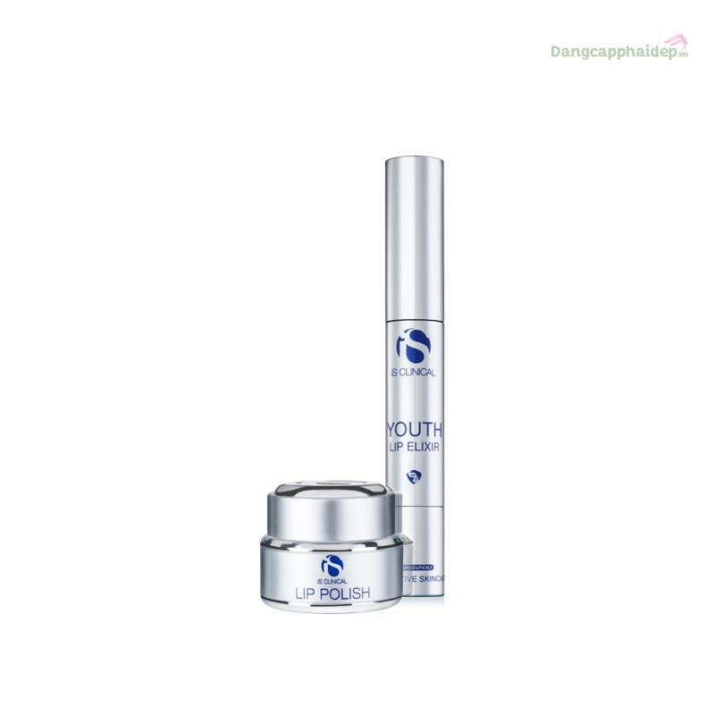 iS Clinical Lip Duo tẩy tế bào chết và dưỡng môi hồng xinh