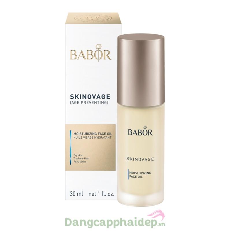 Babor Skinovage Moisturizing Face Oil 30ml - Dầu chăm sóc cho da khô thiếu chất béo và độ ẩm