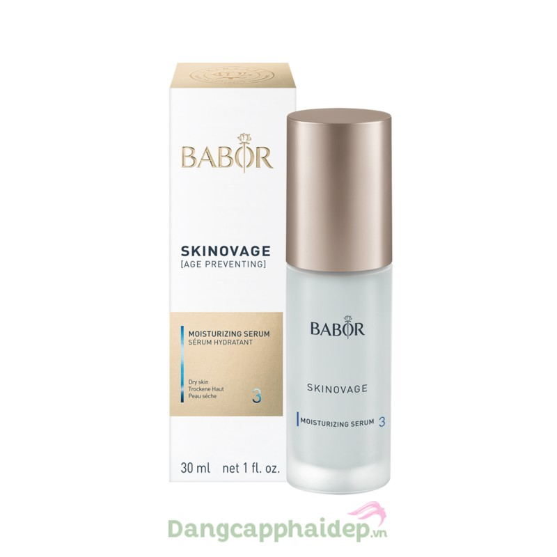 Babor Skinovage Moisturizing Serum 50ml - Tinh chất dưỡng ẩm sâu